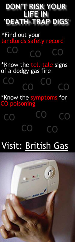 British Gas Carbon Monoxide Poisoning Advert