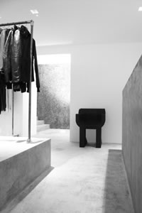 Rick Owen Store Debut's in London Rick Owen 64 South Audley Street, Mayfair London