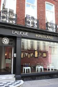 Lalique and Haviland Boutique Facade Conduit Street London