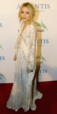 Actress Mary-Kate Olsen  Photograph by: Getty Images/Atlantis, The Palm