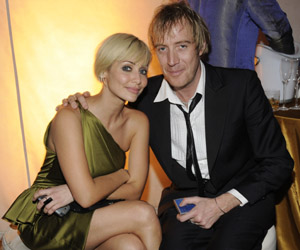 Music artist Natalie Imbruglia and actor Rhys Ifans  Photograph by: Getty Images/Atlantis, The Palm