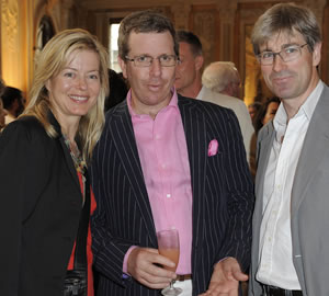 Lady Helen Taylor, Marc Glimcher and Timothy Taylor Photo SGP