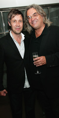 Paddy Considine and Paul Greengrass the Director of the Film