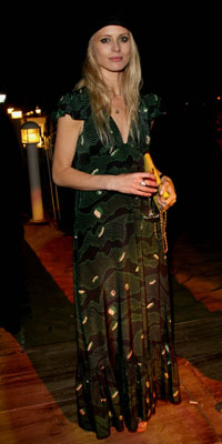 Laura Bailey at the No Country for Old Men - Dinner in Cannes