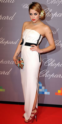 Peaches Geldof attends The Chopard Trophy held at the Baoli restaurant  Photo by: Pascal Le Segretain/Getty Images