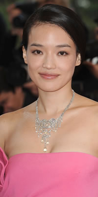 Actress and jury member Qi Shu wearing Cartier jewellery attends the Vengence Premiere at the Grand Theatre Lumiere  Photo by Dominique Charriau/WireImage
