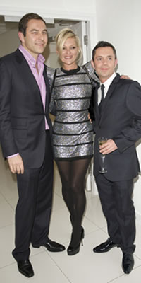 David Walliams, Kate Moss and Shaun Leane Jorge Herrera