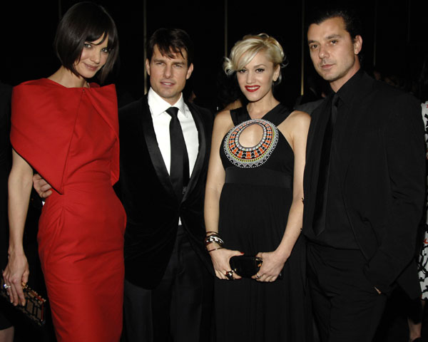 Tom Cruise and Katie Holmes, Gwen Stefani and Gavin Rossdale