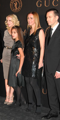 Madonna and her daughter Frida Giannini and Billy Lee