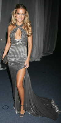 Sylvie van der Vaart  Photo by Chris Jackson/ 2007 Getty Images
