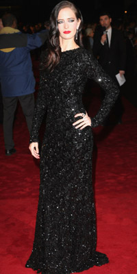 "Award-winning actress Eva Green shines in Montblanc diamonds for the world premiere of ""The Golden Compass"" at Leicester Square"
