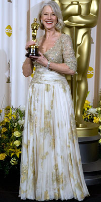 Dame Helen Mirren at the 79th Annual Academy Awards at the Kodak Theatre in Hollywood