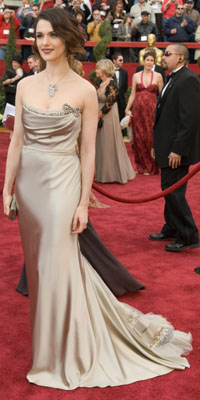 Rachel Weisz arrives at the 79th Annual Academy Awards at the Kodak Theatre in Hollywood
