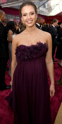 Jessica Alba 80th Academy Awards, 80th Show Day
