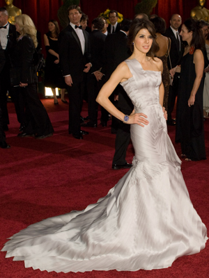 Marisa Tomei attends the 81st Annual Academy Awards® Dress by: Atelier Versace Bryan Crowe / ©A.M.P.A.S.