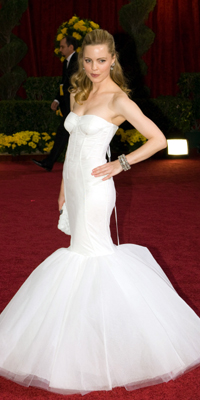 Melissa George attends the 81st Annual Academy Awards® Dress by:  Bryan Crowe / ©A.M.P.A.S.
