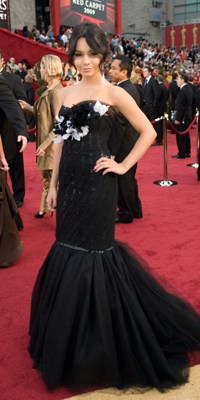 Vanessa Hudgens attends the 81st Annual Academy Awards®  Dress by: Marchesa Jon Didier / ©A.M.P.A.S.